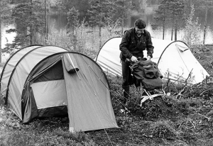История палатки